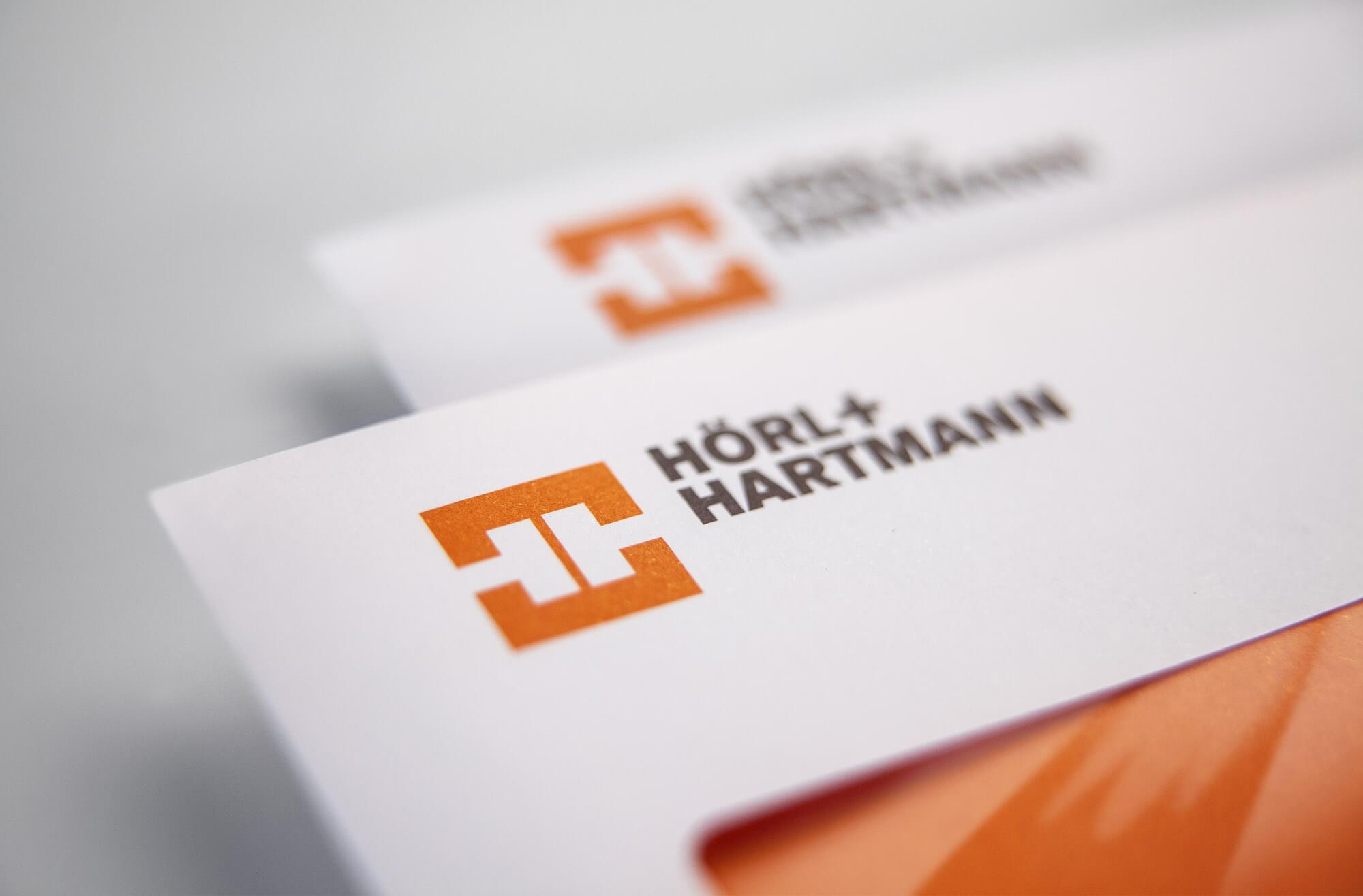 Hörl+Hartmann Corporate Design Entwicklung